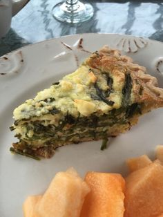 La Bonne Vie- An Eating, Drinking & Cooking Diary!: A Wee Green Quiche for St. Patrick's Day!