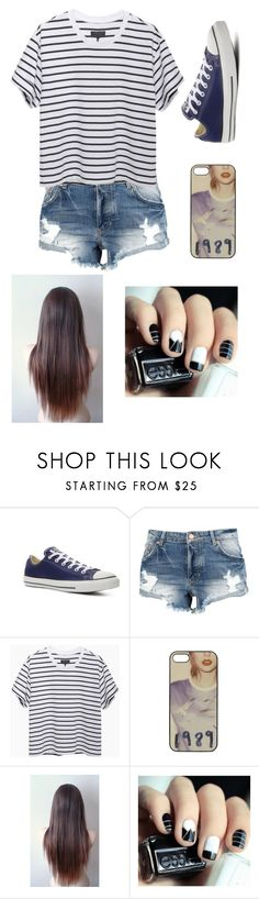 """Liners"" by m-gorodetskaya ❤ liked on Polyvore featuring Converse and rag & bone"