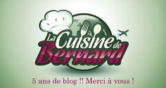 La Cuisine de Bernard - site contenant pleins de recettes sympas et pas trop difficiles!