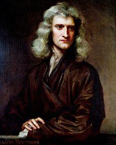 Isaac Newton - Sir G Kneller, 1689