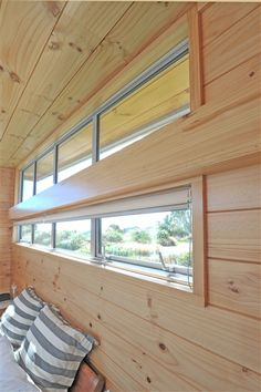 like the idea of many differently shaped windows to take in views from all angles