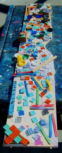 let the children play: creating mosaics with preschool children