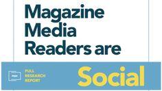 Social media enhances magazine consumption and engagement!  #Facebook #Twitter #Instagram #SocialMedia