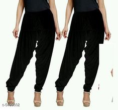 Checkout this latest Patialas Product Name: *Fabulous Women's Patiala Pants Combo (Pack Of 2)* Fabric: Cotton Viscose  Waist Size: XL - 34 in XXL - 36 in  Length: Up To 40 in Type: Stitched Description: It Has 2 Pieces Of Women's Patiala Pants Pattern: Solid Country of Origin: India Easy Returns Available In Case Of Any Issue   Catalog Rating: ★4 (1062)  Catalog Name: Sana Fabulous Women's Patiala Pants Combo Vol 8 With CatalogID_813672 C74-SC1018 Code: 853-5455602-168
