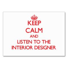 OK, this is just too funny.   Oversized Interior Design Business Cards & Business Card Templates