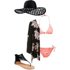 Untitled #67 by kathleencialdella on Polyvore featuring polyvore, fashion, style, Vitamin A, Topshop, Wet Seal and Eugenia Kim
