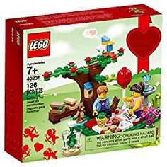 [gallery] Lego 40236 Romantic Valentine Picnic 126 pcs Celebrate the season of love with this Romantic Valentine Picnic set, featuring 2 besotted minifigure Lego Valentines, Valentine Day Gifts, Valentine Ideas, Lego Duplo, Legos, Best Valentine's Day Gifts, Picnic Set, Romantic Picnics, Buy Lego