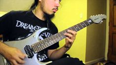 The Dance of Eternity - Dream Theater - Guitar Cover by Peace (H.P. Reve...