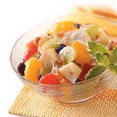 Morning Fruit Salad Recipe
