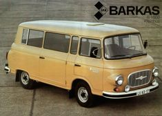 East German Car, Classic Campers, Car Camper, Fiat 600, Cool Vans, Vintage Vans, Commercial Vehicle, Vw Bus, Old Cars
