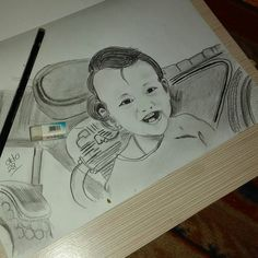 #Sketsa wajah
