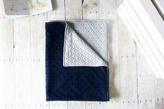 Baby blanket  Quilted blanket  Newborn blanket by SimplyMaggieMade