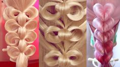 34 урока - Причёски на резинках - Hairstyles tutorials compilation (time...