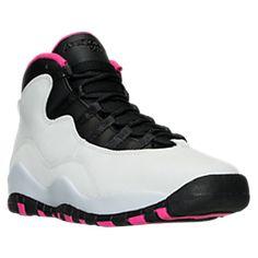 26bb4fd07dcef8 Girls  Big Kids  Air Jordan Retro 10 Basketball Shoes