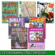 A.C.E Paces, Homeschool Curriculum.