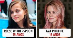 Olhe afilha deReese Witherspoon!
