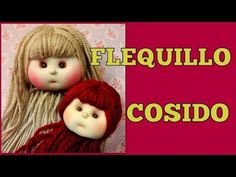 FLEQUILLO DE MUÑECA, manualilolis, video- 353 - YouTube Waldorf Dolls, Doll Hair, Handmade Design, Fabric Dolls, Crochet Dolls, Diy For Kids, Face, Pattern, Crafts