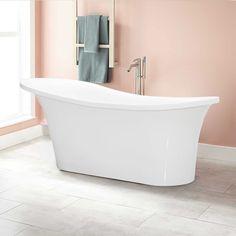 "Sicily 66""x29"" Soaking Bathtub"