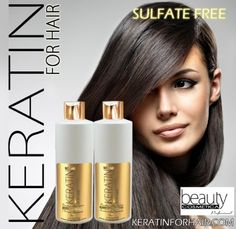 Keratin For Hair Sulfate Free Color Safe Smoothing Shampoo and Conditioner 16 fl oz >>> Click on the image for additional details.