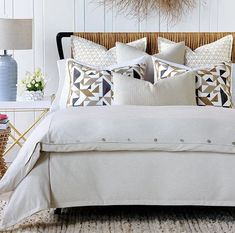 Cape Cod Geometrics Luxury Bedding | Nautical Luxuries