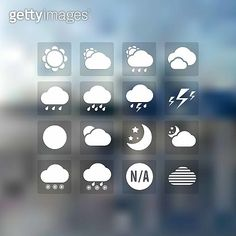 Cloud icons for cloud computing web and app. Cloud Icon, Cloud Computing, Icon Set, Company Logo, Weather, Clouds, Weather Crafts, Icons