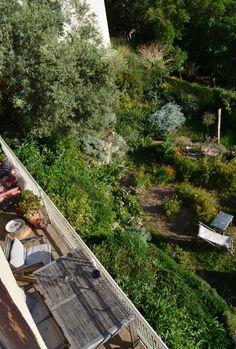 Chez Lejardindeclaire / La terrasse
