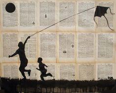 Saatchi Online Artist Loui Jover; Drawing, flying #art