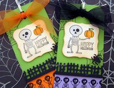 Cute halloween paper craft