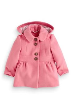 Next Girls Pink Coat