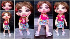 doll Dolls, Disney Princess, Disney Characters, Handmade, Baby Dolls, Hand Made, Doll, Craft, Disney Princes