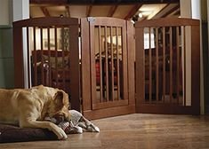 Orvis Threepanel Dog Gate With Door 36h Gate Cinnamon *** Continue To The  Product At The Image Link. (This Is An Affiliate Link)