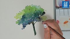 Powered by wordpress, state-of-the-art semantic personal publishing platfor Watercolor Portrait Tutorial, Gouache Tutorial, Watercolor Images, Watercolor Trees, Watercolor Pencils, Watercolour Painting, Painting & Drawing, Watercolours, Free Printable Flash Cards