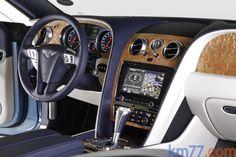 Bentley Continental GT (Inside)