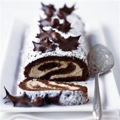 Chocolate chestnut roulade - Christmas and Holiday Dessert Recipe