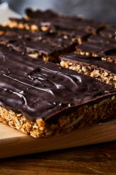 Healthy Desserts, Raw Food Recipes, Dessert Recipes, Vegan Granola, Granola Bars, Barres Dessert, My Favorite Food, Favorite Recipes, Biscuit Cookies