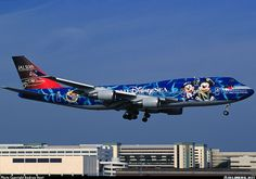 Jumbo Jet, Airplane Art, Boeing 747, Paint Schemes, Aviation, Aircraft, Bike, Japan, Airplanes