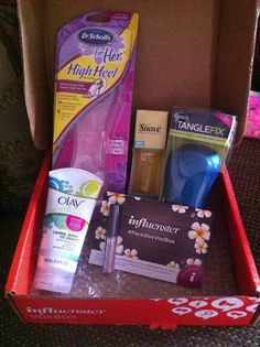 @Influenster thank you #paradisevoxbox