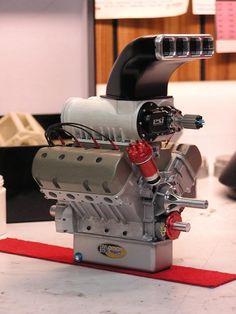 Scalemotorcars - Re: scratchbuilt 1-8 scale top alcohol dragster (modern)