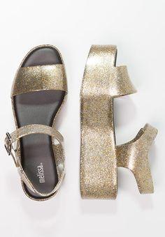 Melissa MAR - Plateausandalette - gold glitter für 84,95 € (22.05.17) versandkostenfrei bei Zalando bestellen.