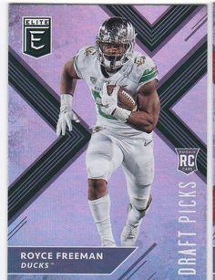 2018 Panini Elite Royce Freeman Rookie Card No 126 Denver Broncos Draft Pick ad89ddd5b