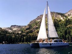 Or sail around the lake on a chartered boat out of Tahoe City. The sunset cruise is breathtaking! >> http://www.frontdoor.com/photos/the-softer-side-of-lake-tahoe?soc=pindhm