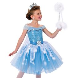 "A Wish Come True Child ""Elsa"" Character Costume Topskirt"