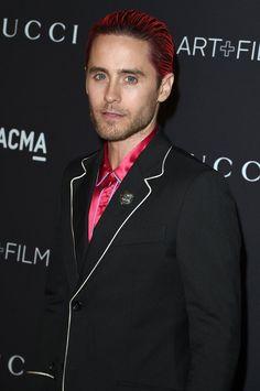 Pin for Later: Die Stars hatten sich richtig in Schale geworfen für die LACMA Gala Jared Leto