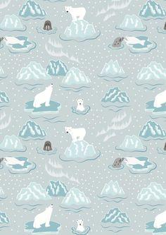 Lewis & Irene Christmas 2016 'Northern Lights' metallic fabric collection www.lewisandirene.com