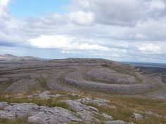 The Burren National Park, Ireland... on paper makes no sense whatsoever, has to be seen to be understood.