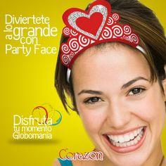 #PartyFace es nuestra línea de artículos para fiesta, donde puedes salir de lo común en tus reuniones o carnavalitos. Llámanos y te enseñaremos todas nuestras opciones.  #DisfrutaTuMomentoGlobomanía