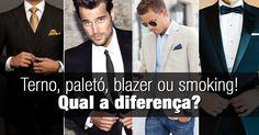 Terno, paletó, blazer, smoking e Black Tie. São muitos nomes para peças de roupas que são bemparecidas. E toda vez que surge uma ocasião que precisamos us