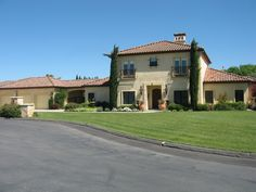 Tuscan architecture country home http://www.customhomesmiller.com/