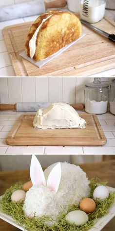 31 chic DIY Easter decorations for dressing the dining table .- 31 schicke DIY Osterdekoration zum Ankleiden des Esstisches – Harry 31 chic DIY Easter decorations to dress up the dining table – up - Easter Bunny Cake, Easter Treats, Easter Eggs, Easter Food, Bunny Cakes, Easter Candy, Easter Salad, Easter Dyi, Easter Cupcakes