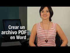 ¿Cómo crear un archivo PDF desde Word 2010 con todas las fuentes incrustadas? - YouTube
